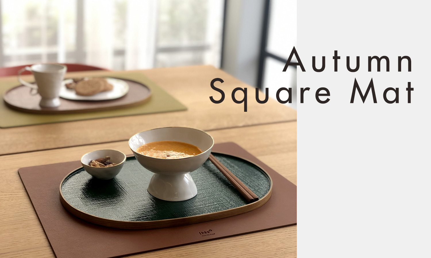 Autumn Square Mat