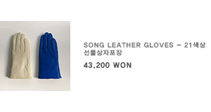Song Leather Gloves - 21색상