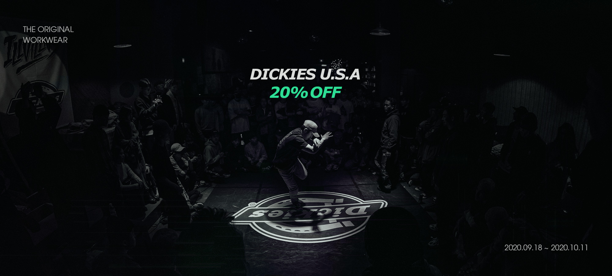 DICKIES U.S.A 20% OFF